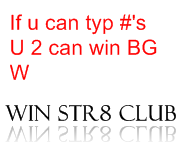 WIN STR8 CLUB